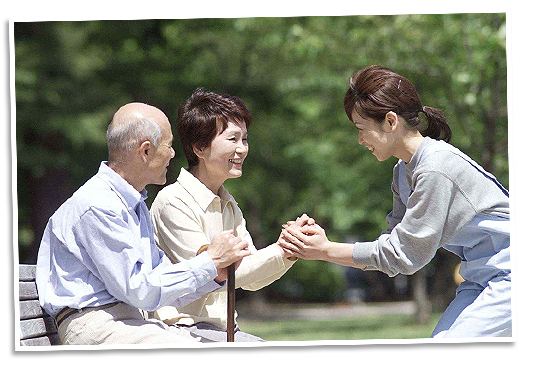 特別養護老人ホーム慶寿園の外観写真